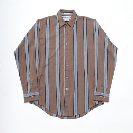 Stripe Pattern L/S Shirt
