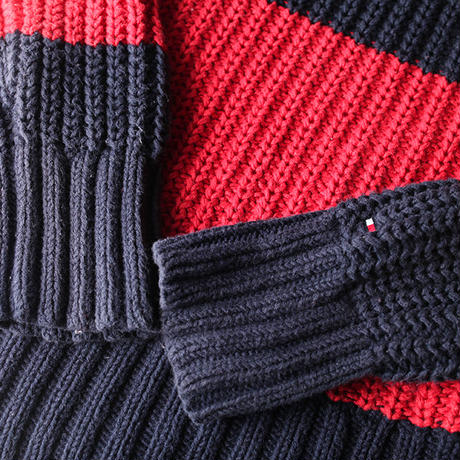 Tommy Hilfiger Border Knit Sweater