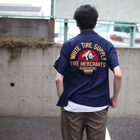 ビンテージ 刺繍ボーリングシャツ Vintage Bowling Shirt