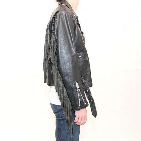 Fringe Riders Leather Jacket