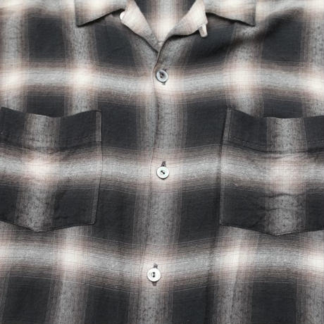 Rayon Ombre Check L/S Shirt