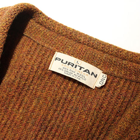 Puritan Long Knit Cardigan