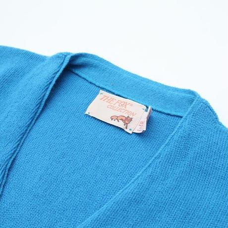 Vintage Fox Knit Cardigan