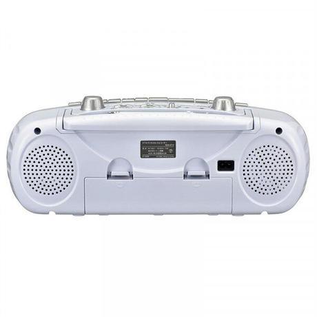 OHM AudioComm ダブルラジオカセットレコーダー