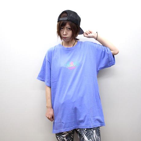 """ROLLING CRADLE Tシャツ """"RCxEVANGELION 初号機再起動"""" / Flo-blue"""
