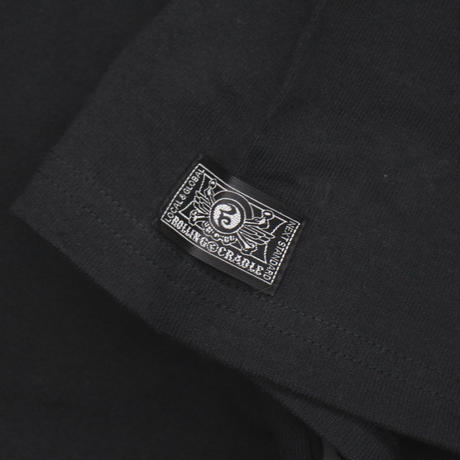 RC HEAVY COTTON BIG POCKET Tee / BLACK