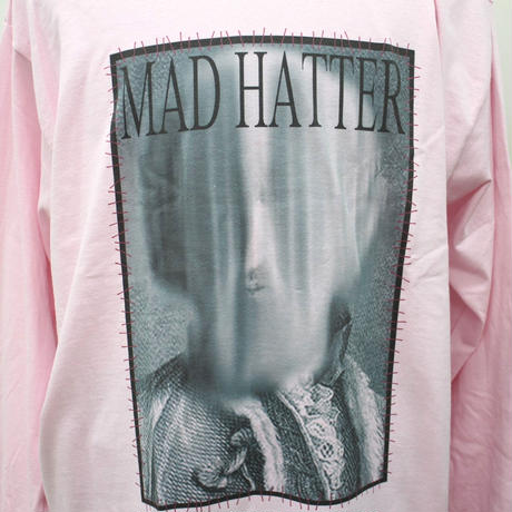 "MAD HATTER ロンT ""Earl L/S Tee"" / PINK"