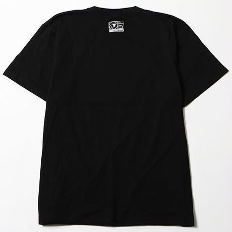 "【SILLENT FROM ME】Tシャツ ""CROSS"" / BLACK-WHITE"