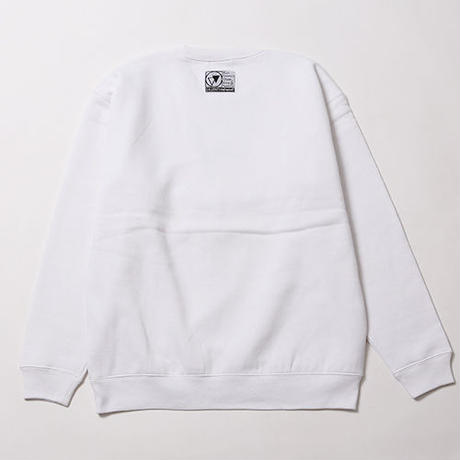 DIVINITY -Crew Sweat- / WHITE
