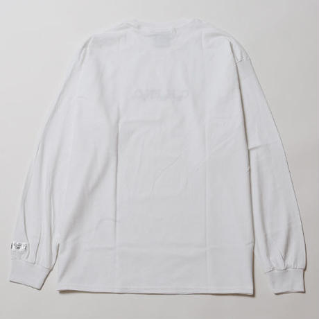 SLEEPING TABLET ロンT ESCAPE [ LONG SLEEVE ] / WHITE