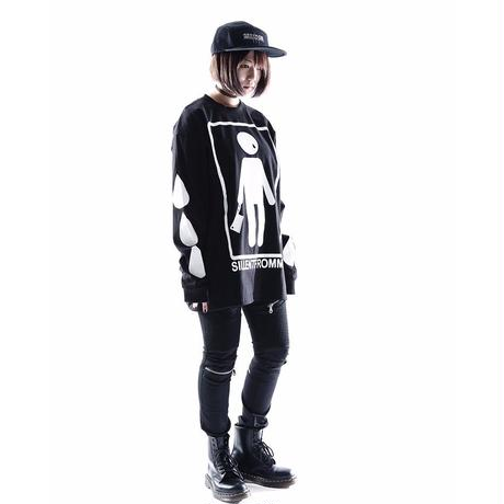 HUMANE -Long Sleeve- / BLACK