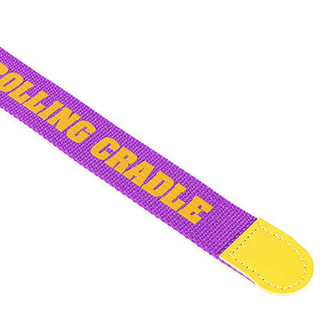 "ROLLING CRADLE ベルト ""RING BELT"" / PURPLE"