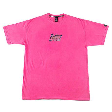 """ROLLING CRADLE Tシャツ """"M2K TEKNO GIRL TEE"""" / Neon-pink"""