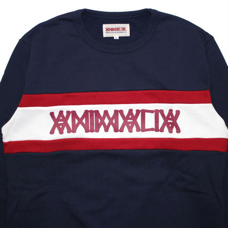 "ANIMALIA クルースウェット ""Club Sweat"" / NAVY"