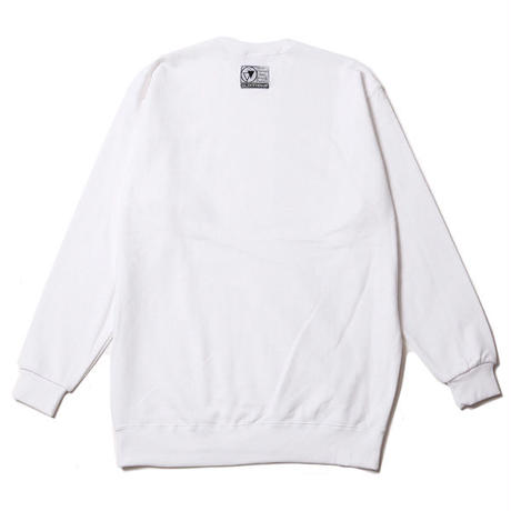 ALEXIA -Crew Sweat- / WHITE