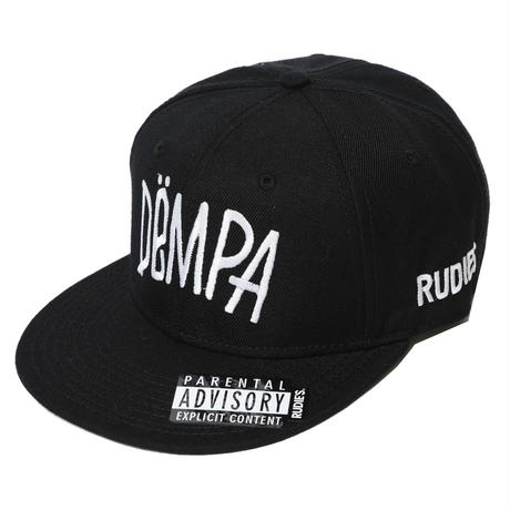 DRAWING DEMPA SNAPBACKCAP / BLACK