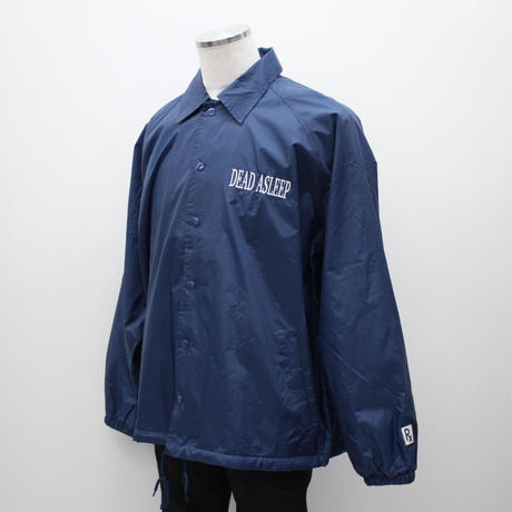 SLEEPING TABLET コーチジャケット ASLEEP [ COACH JACKET ] / NAVY