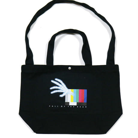CALL OF THE DEAD TOTE BAG / BLACK