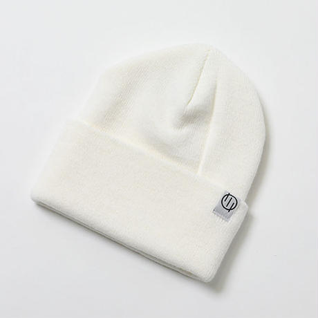 "SILLENT FROM ME ニットキャップ""QUERY -Beanie-"" / WHITE"