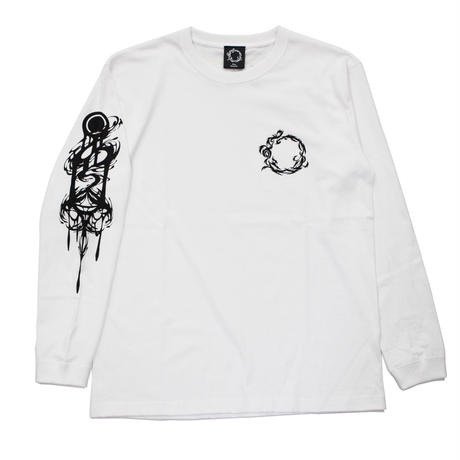 RISE UP LONG SLEEVE T-sh / WHITE
