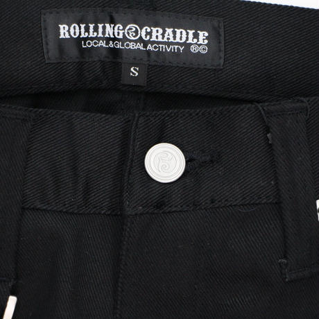 RC SKINNY PANTS / BLACK
