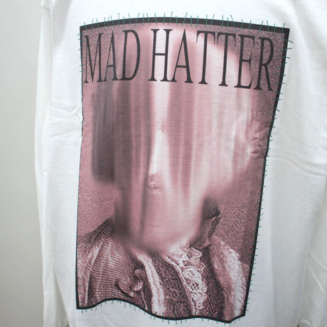 "MAD HATTER ロンT ""Earl L/S Tee"" / WHITE"