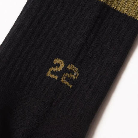 "【VIRGO】ソックス""VGW 22 SOCKS"" / BLACK"