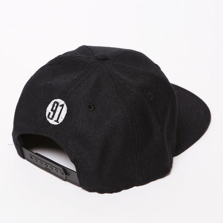 DRAWING SNAPBACKCAP / BLACK