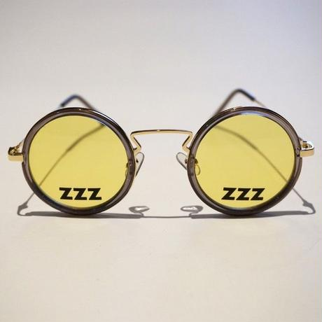 SLEEPING TABLET サングラス ZZZ [ OVAL SUNGLASS ] / YELLOW