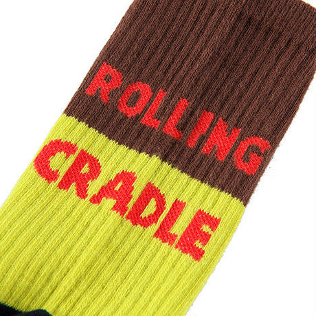 "【ROLLING CRADLE】ソックス ""ROLICLE SOX"" / NAVY"