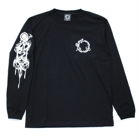 RISE UP LONG SLEEVE T-sh / BLACK