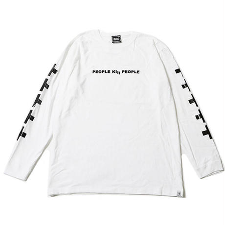 "【SILLENT FROM ME】ロンT ""KNOWN -Long Sleeve-"" / WHITE"
