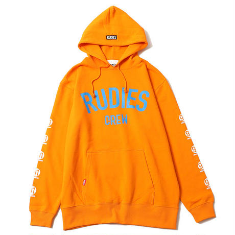 "【RUDIE'S】プルオーバーパーカ ""BRIGHT PHAT HOOD SWEAT"" / ORANGE"