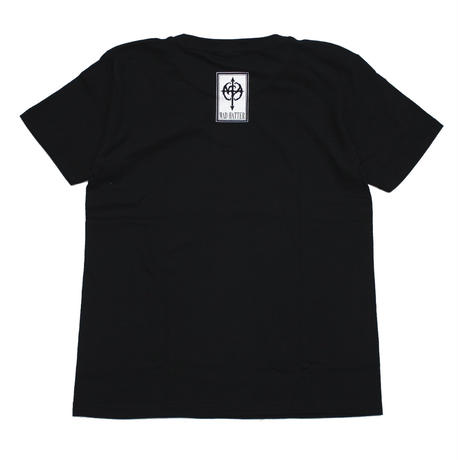 mercy s/s Tee / BLACK-RED