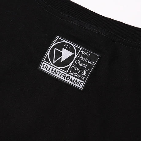 SACRIFICE -Long Sleeve- / BLACK