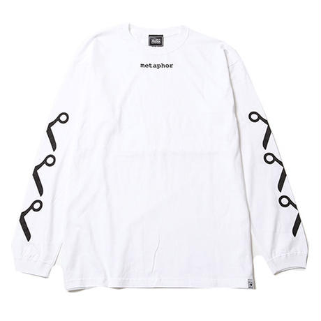 METAPHOR -Long Sleeve- / WHITE