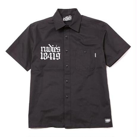 OLD SKOOL WORK SHIRTS /BLACK