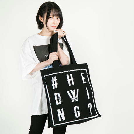 """HEDWiNG トートバック Hashtag """"#"""" Tote bag"""