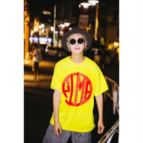 "【PLMP】Tシャツ ""PLMP MARK 3"" / YELLOW"