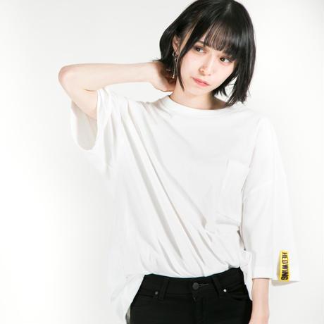 HEDWiNG Tシャツ Drawstring T-shirt / WHITE