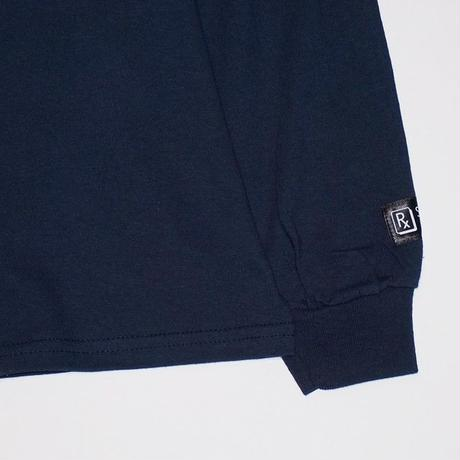SLEEPING TABLET ロンT BOI [ LONG SLEEVE ] / NAVY