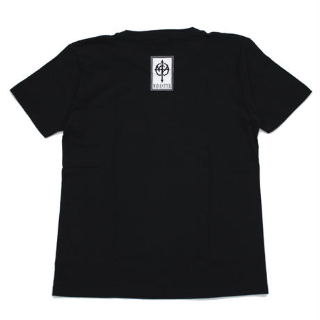mercy s/s Tee / BLACK-BLUE