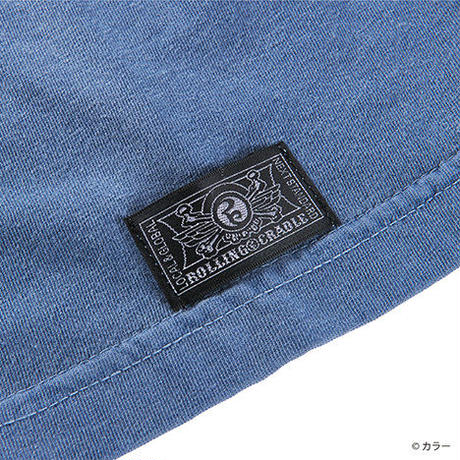 "ROLLING CRADLE Tシャツ ""RCxEVANGELION 渚カヲル"" / Blue-jean"