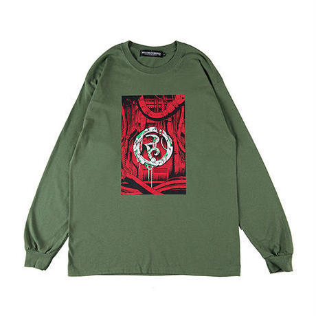 "【ROLLING CRADLE】ロンT ""ROLLING CRADLE CORE LONG SLEEVE"" / GREEN"