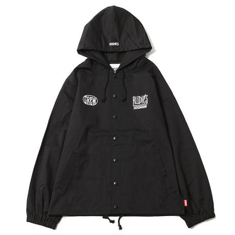 "【RUDIE'S】フードジャケット ""DRAWING HOOD JACKET"" / BLACK"