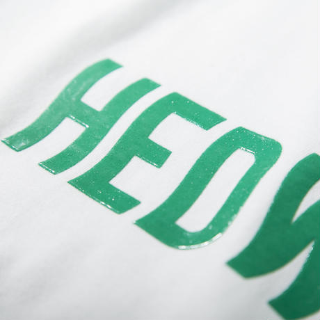 "HEDWiNG Tシャツ ""Slimy Logo T-shirt"" / WHITE"