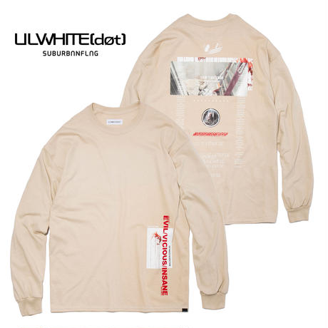 -MYTH- LONG SLEEVE TEE / SAND