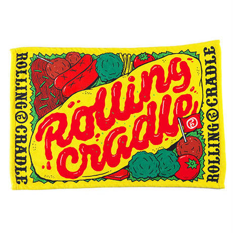 "ROLLING CRADLE ブランケット ""ROLICLE BLANKET"" / YELLOW"