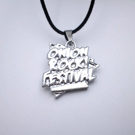 "ONION ROCK FESTIVAL × STREET ARTS ""LOGO"" 削り出しネックレス"