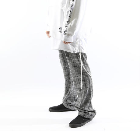 "【SILLENT FROM ME】スラックス ""KNOWLEDGE -Wool Slacks-"" / GRAY"